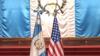Banderas de Guatemala Y Estados Unidos. Foto cortesía de la Presidencia de Guatemala.