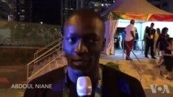 Abdoul Niane, un nageur sénégalais
