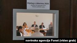 Na FPN-u u Beogradu završena peta runda razgovora vlasti i opozicije o izbornim uslovima, Foto: VOA