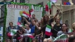 New York'ta İtalyan Asıllı Amerikalılar'dan Renkli Kutlama