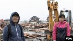 Sretni da su preživjeli: Masayo Kamagae sa kćerkom