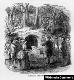 George Washington's funeral