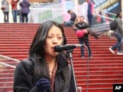 丹增色珍 美西自由西藏學生會聯絡人