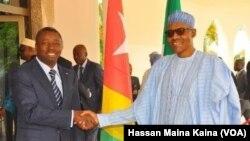 Shugaban Togo Gnassingbe Eyadema da Shugaba Buhari