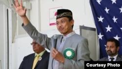 Imam Shamsi Ali, Diaspora Indonesia yang menjadi Imam di New York, AS (foto courtesy: Facebook).