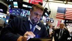 纽约证券交易所2019年5月30日的道琼斯指数略有回升。