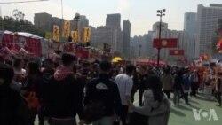 香港支联会年宵设置迷你六四纪念馆
