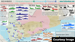 Vojne baze u Jemenu