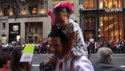 New Yorkers React to Seeing Pope Francis