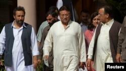 Pervez Musharraf hagati