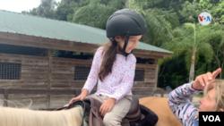 """Danna Isabella es una niña venezolana de 6 años que padece el síndrome de """"Dandy-Walker"""", una anomalía congénita que se caracteriza por la presencia de hidrocefalia."""
