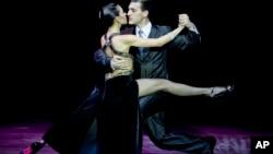 Finale de la Coupe du monde de Tango à Buenos Aires, Argentine, le 27 août, 2013.