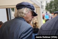 Rock star Bob Geldof prepares to speak to the pro-European Union rally held in London, July 2, 2016.