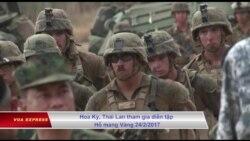 Ông Trump cam kết gầy dựng quân đội Mỹ 'lớn mạnh hơn bao giờ hết'