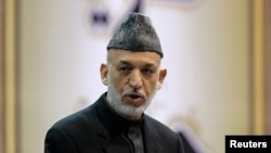 하미드 카르자이 아프가니스탄 대통령 (자료사진)