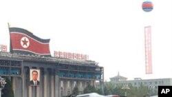 2010년 10월 노동당 창건 65주년 기념 평양의 열병식에 등장한 북한 미사일