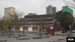 台北紅館外景 (美國之音 申華拍攝)
