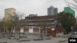 台北红馆外景 (美国之音 申华拍摄)