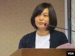 台湾在野党亲民党立委陈怡洁