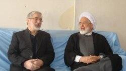 مهدی کروبی و میرحسین موسوی - سحام نیوز