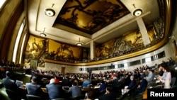 스위스 제네바 유엔 본부에서 군축회의가 열리고 있다. (자료사진)