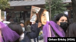 International Day for the Elimination of Violence Against Women march in Gaziantep, Turkey