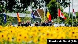 Відкриття пам'ятника жертвам катастрофи МН17 в Нідерландах