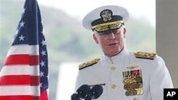 美軍亞太地區總指揮官﹑海軍上將羅伯特.威拉德。
