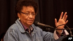 Президент Либерии Элен Джонсон-Серлиф