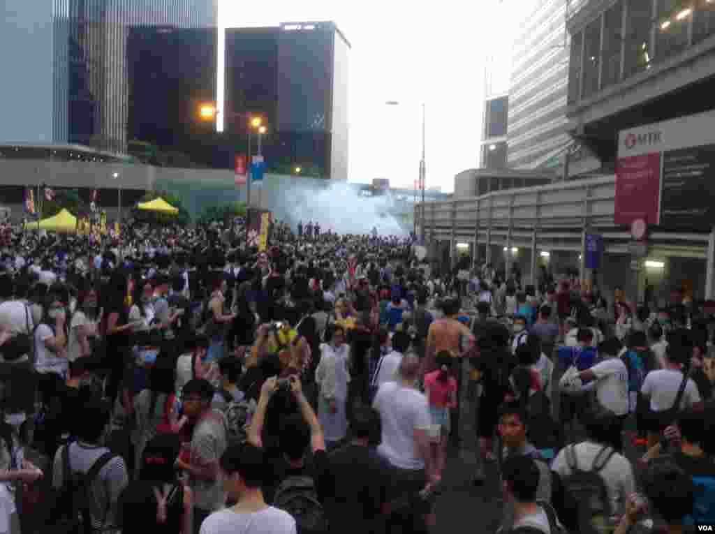 Miles tomaron las calles de Hong Kong por un cambio de régimen.