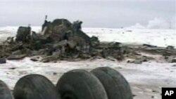 سقوط یک طیارۀ باربری روسی
