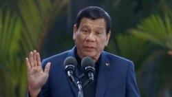 အစြန္းေရာက္ သူပုန္ေေတြ ႏွိမ္နင္းဖို႔ Duterte စစ္မိန္႔ ထုတ္ျပန္