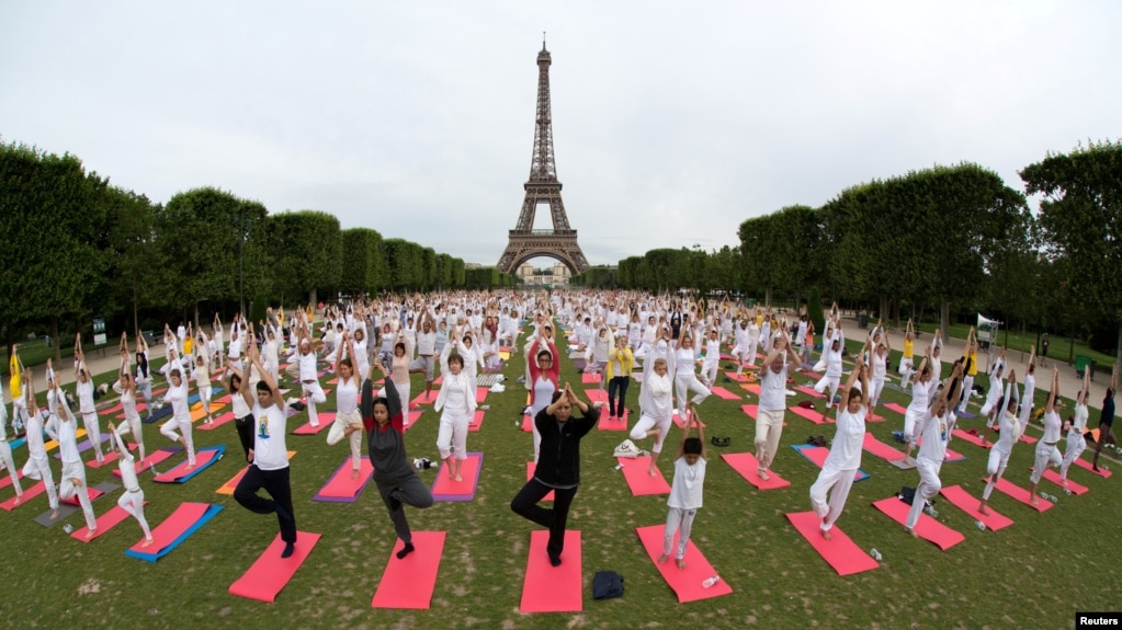 Image result for world yoga day 2018 USA
