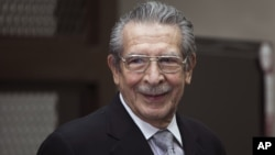 Nhà cựu độc tài Guetemala Jose Efrain Rios Montt