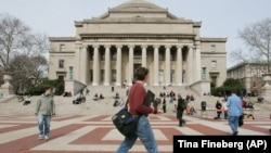 La Columbia University à New York le 31 mars 2005. (AP Photo / Tina Fineberg)