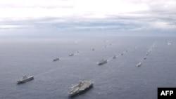 Военные учения США и Южной Кореи продлятся до конца апреля