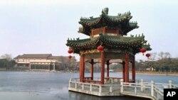北京钓鱼台国宾馆和今年中国外交(28图)