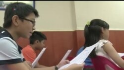 홍콩, 미국식 영어 배우기 바람