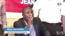 Moise Jean Charles, Apiye Akò 5 Pati Politik pou Ranplase Prezian JJovenel Moise sou Pouvwa a