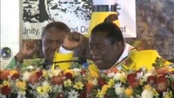 Zanu PF Delegates Sloganeering for Party Leader Robert Mugabe