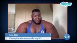 "Iron Bibi, le champion du monde de ""log lift"""