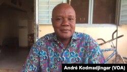 Djakasnabaye Nekob, parent d'élève au Tchad, le 11 mai 2020. (VOA/André Kodmadjingar)