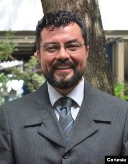 El analista político Cristhians Castillo. Foto cortesía.