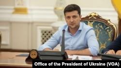 Президент Украины Владимир Зеленский (архивное фото)