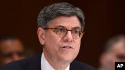 Menteri Keuangan Amerika, Jacob Lew (foto: dok).