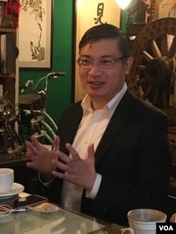 资料照:台湾香港协会理事长桑普