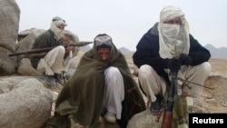 تصویر آرشیوی از پیکارجویان طالبان