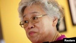 북한에 억류 중인 한국계 미국인 케네스 배 씨의 어머니 배명희 씨.
