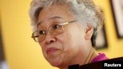 북한에 억류 중인 케네스 배 씨의 어머니 배명희 씨.(자료사진)