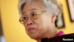북한에 억류 중인 케네스 배 씨의 어머니 배명희 씨.